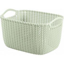 CURVER - Kôš UH hranatý 8L biely Knit