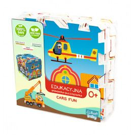 TREFL - penové puzzle City Cars FUN