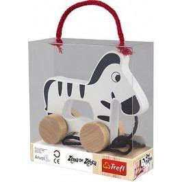 TREFL - Zebra drevená na ťahanie