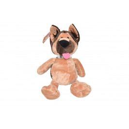 WIKY - Pes s obojkom 23cm