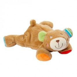 BABY FEHN - oskar ležiaci medvedík plnený guľôčkami