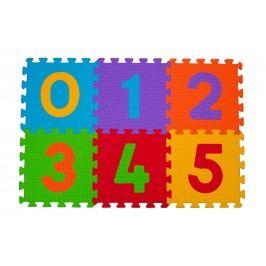 BABYONO - Puzzle penové číslice 6ks, 6m+