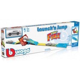 BBURAGO - Street Fire Launch´n Jump 30284 s jedným autíčkom 1:43