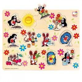 Bino - 13725 Puzzle Krtko - vkladačka