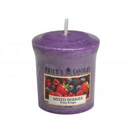 Price´s FRAGRANCE votivní svíčka Voňavé lesní plody - hoření 15h