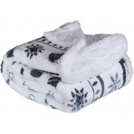 Homeville deka mikroplyš s beránkem 150x200 cm Christmas