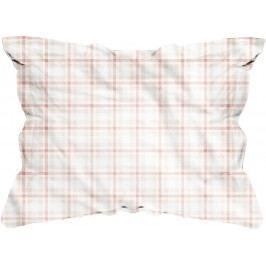 Homeville Mix&Match povlak na polštář Leola káro béžová - 50x70 cm
