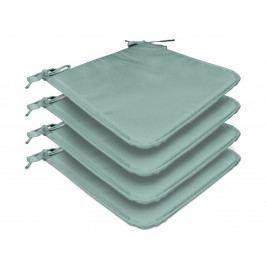 TODAY GARDEN SPIRIT set 4 podsedáků na židli 38x38x1,5 cm Sky - sv. modrá