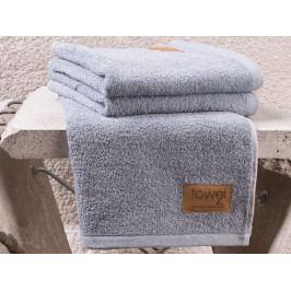 Clarysse Towel2 ECO ručník denim - 50x100 cm (sada 2 ks)