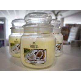 PRICE´S MIDI svíčka ve skle Exotický kokos, hoření 90h, 2.jakost