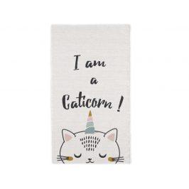 TODAY KIDS bavlněný koberec I am a Cutiecorn 60x120 cm