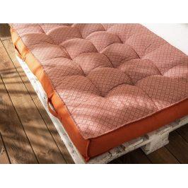 TODAY GARDEN SPIRIT podsedák na paletu 120x80x15 cm Orange Rust - oranžová
