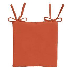 TODAY GARDEN SPIRIT vysoký podsedák na židli 40x40x6 cm Orange Rust - oranžová