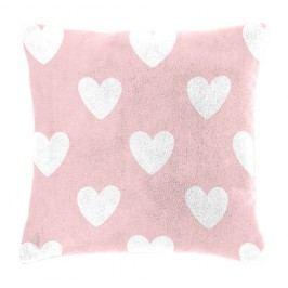 Detský vankúšik baránok Mistral Home Amore pink srdiečka 40x40 cm