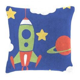 Detský vankúšik baránok Mistral Home Space vesmírne lode 40x40 cm