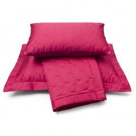 Luxusný saténový prehoz na postel Raspberry - malinová - 180x260 cm
