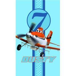 CTI Osuška Lietadlá (Planes) modrá Skies calling 70x120