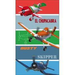 CTI Osuška Lietadlá (Planes) pásiky 70x120