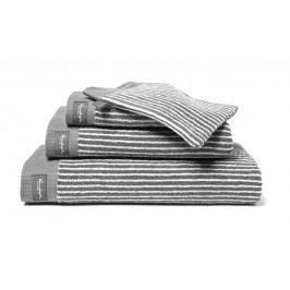 Vandyck Vandyck uterák Home Petit Ligne Mole grey - šedá - 60x110 cm