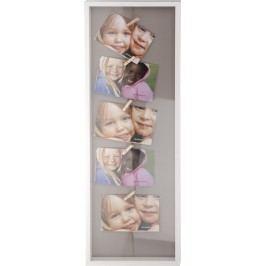 Home collection Home collection Rám na 5 fotiek s drevenými štipcami 72,5x24,5cm