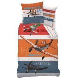 CTI CTI obliečky Lietadlá (Planes) Skipper 140x200,60x80