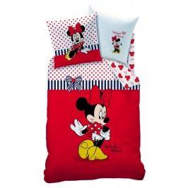 CTI CTI obliečky Minnie Sweetie červená 140x200,70x90