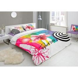 Designové obliečky bavlnený satén 4655 TOMORROW - 140x200-220 / 60x70 cm