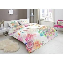 Designové obliečky bavlnený satén 4947 PALAYA - 140x200-220 / 60x70 cm