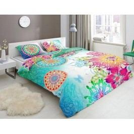 Designové obliečky bavlnený satén 5074 LAZIRA - 240x200-220 / 60x70 cm