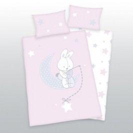 Herding Herding obliečky pre bábätká Zajačik hviezdičky 135x100,40x60