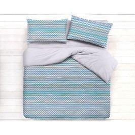 Gipetex Natural Dream Talianske obliečky 100% bavlna LUX Persia modrá - 140x200cm / 70x90cm