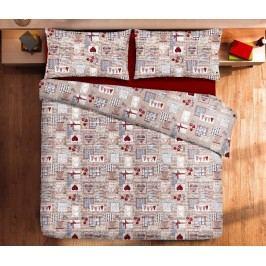 Gipetex Natural Dream Talianske obliečky bavlna LUX Cortina - 140x200cm / 70x90cm