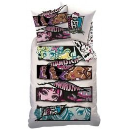 CTI Obliečky Monster high White velvet-140x200,60x80