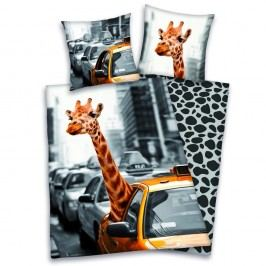 Herding Obliečky New York žirafa 140x200,70x90
