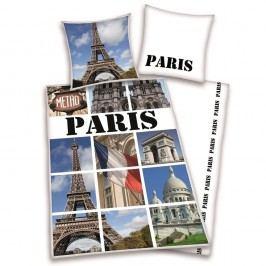 Herding Obliečky Paríž pohľadnice 140x200,70x90