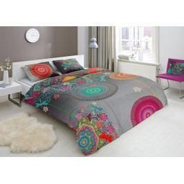 Designové obliečky bavlnený satén 5371 FREYA - 140x200-220 / 60x70 cm