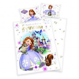 Herding Bavlnené obliečky pre bábätká Princezná Sofie první 135x100,40x60