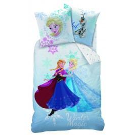 CTI CTI obliečky Disney Frozen Winter (Ľadové kráľovstvo) 140x200,70x90