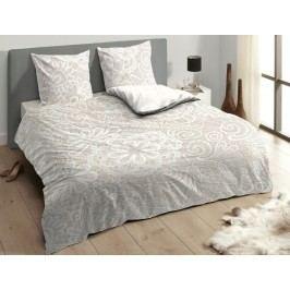 Descanso Luxusné saténové obliečky DESCANSO 9301 Lace pieskové - 140x200-220 / 60x70 cm