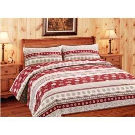 Gipetex Natural Dream Flanelové obliečky CORVARA - 140x200cm / 70x90cm