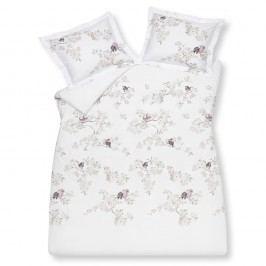 Luxusné bavlnené obliečky VANDYCK Birdy Sand - 200x200-220 / 60x70 cm