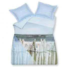 Luxusné bavlnené obliečky VANDYCK Ocean Waves - 140x200-220 / 60x70 cm