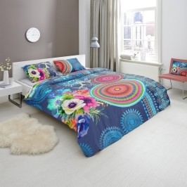Designové obliečky bavlnený satén 5594 DARLENE - 140x200-220 / 60x70 cm