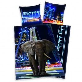 Herding Herding obliečky Big City Elephant 140x200, 70x90