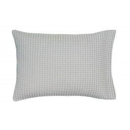Luxusní povlak na polštář Home Piqué waffle 40x55cm Mole grey - šedá