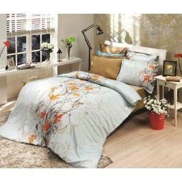 Halley home Obliečky 100% bavlnené renforcé Giselle modrá - 140x200cm / 70x90cm