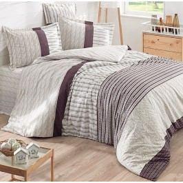 Halley home Halley home obliečky 100% bavlna Knitting pletenina - 140x200cm / 70x90cm