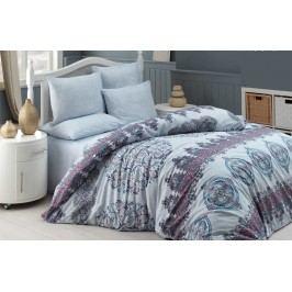 Homeville Povlečení 100% bavlna Alexi se dvěma povlaky na polštář - 140x200 / 50x70+70x90