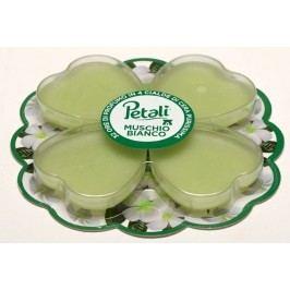 Price´s PETALI vonné vosky Biele pižmo, vôňa 4x8hodín