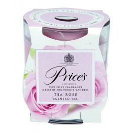 Price´s FRAGRANCE vonná sviečka v skle Čajová ruža 350g